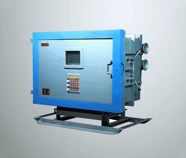 矿用隔爆型双电源三回路软启动器